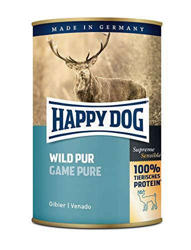 Bester der welt Glücklicher Hund Wild Par |  Nassfutter 6X400g
