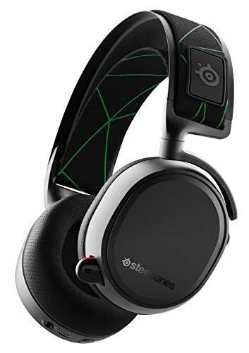 Steelseries Arctis 9X Auriculares, Conectividad Inalámbrica Y Mediante Bluetooth Incorporadas, Hasta 20 Horas De Batería, Para Xbox Series X y Xbox One, Negro