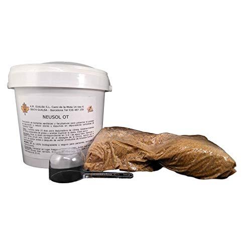 Neusol OT 1 lbs. Bacterias. Eliminar Olor de Depuradora de Oxidación Total.