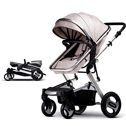 Buy LFFCC Baby Stroller Bassinet Pram Carriage Stroller - Cynebaby All Terrain Vista City Select Pus...