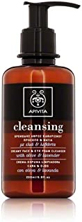 Apivita Creamy Face and Eye Foam Cleanser 6.8 fl oz.