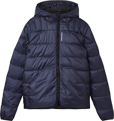 Calvin Klein Jeans Padded Jacket Chaqueta, Cielo Nocturno, L para Hombre