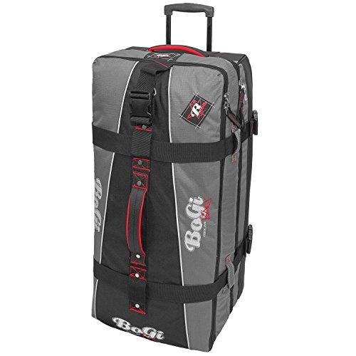 BoGi Bag Reisetrolley 110 Liter Reisetasche - Grau / Schwarz