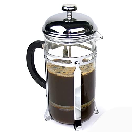 NMQQ French Press Kaffeekanne aus Glas,...