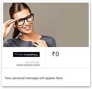 Flat 10% off at checkout  Titan Eyeplus E-Gift Card
