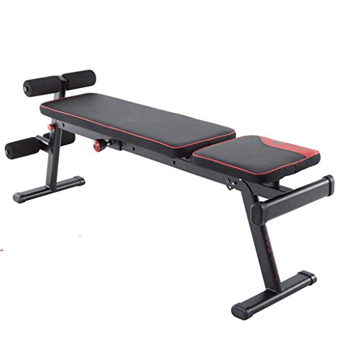 GHGJU Adjustable Dumbbell Bench,Folding Dumbbell Bench,Comfortable Sponge backrest,Multiple tilt Angles,Best Bench Press Fitness Bench