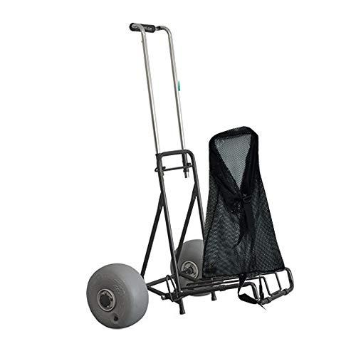 Wheeleez Mini Folding Beach Cart with...