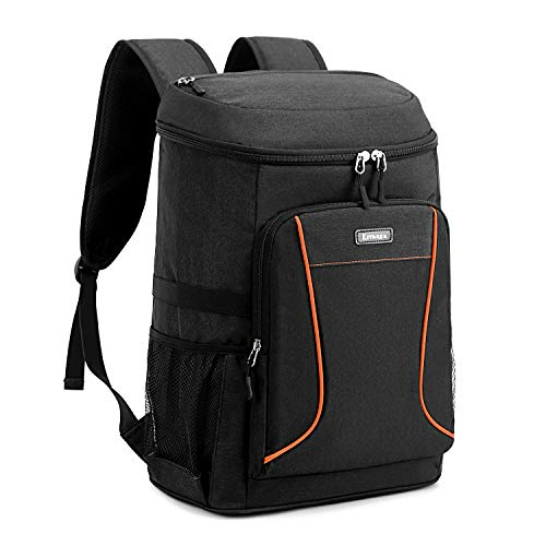 Estarer Insulated Cooler Backpack 32L Leakproof Lunch Cool Bag Large Rucksack for Picnic Camping Home