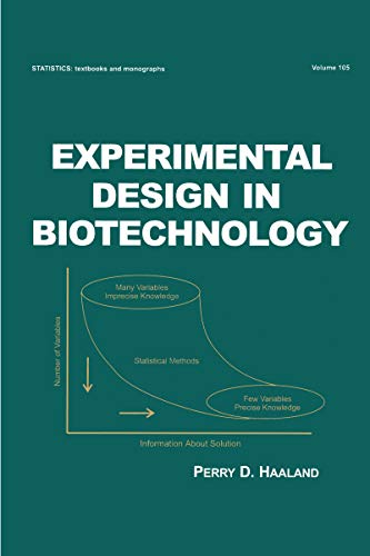 Experimental Design in Biotechnology (Statistics: A Series of Textbooks and Monographs Book 105) (English Edition)