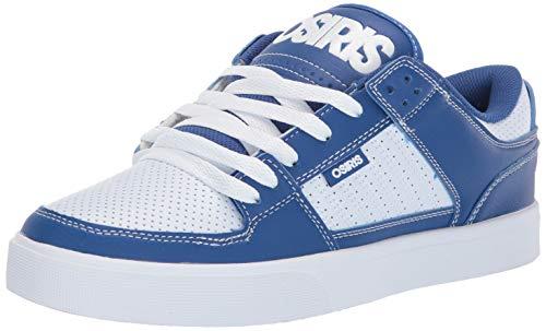 Osiris Men's Protocol Skate Shoe, Blue/White/Black, 8 M US