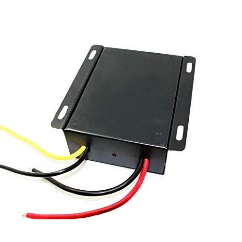 EBILUN Convertisseur de puissance DC 12 V vers 13,8 V, 25 A 345 W Adaptateur régulateur de tension LED pour voiture