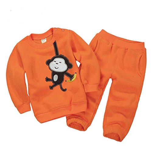 Vine Trading Co.,Ltd Kinder Sweatshirts Set Langarmshirt + Hose Baby Bekleidungssets Kind-Outfits Bekleidung Sport Anzüge