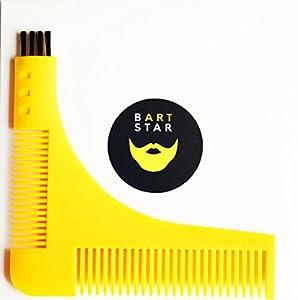 ► SCHNELL & EINFACH - Den Bartkamm einfach der gewünschten Form anlegen und wegrasieren. Dadurch sparst du dir aufwendiges Angleichen und ZEIT. ► EINZIGARTIGE SYMETRIE – Dank der Orientierungspunkte kannst du deinen Bart perfekt formen. Eine schlecht...