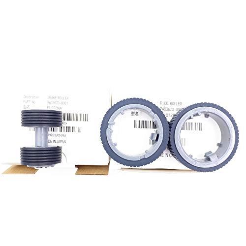 OKLILI PA03670-0001 PA03670-0002 Consumable Kit Pick Roller + Brake Roller Pickup Roller Compatible with fi-7160 fi-7260 fi-7140 fi-7240 fi-7180 fi-7280 fi-7300NX Photo #2