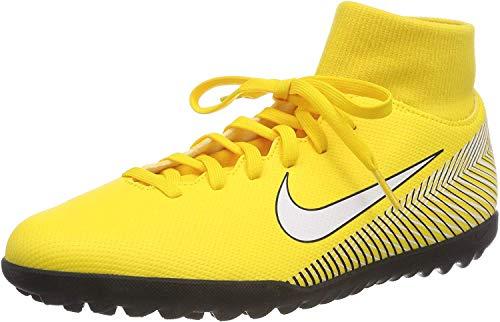 Nike Superfly 6 Club NJR Tf, Scarpe da Fitness Unisex-Adulto, Multicolore (Amarillo/White/Black 710), 45 EU