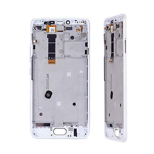 BBGSFDC Adecuado 5.5' Ajuste Original de Pantalla For Meizu U20 U680A U685C U685M U685Q U685H Pantalla táctil del reemplazo digitalizador Asamblea Favorable (Color : White no Frame)