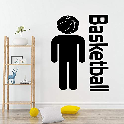guijiumai DIY Kunst Sport Basketball PVC wandaufkleber Vinyl Aufkleber DIY Dekoration zugang 74X97CM