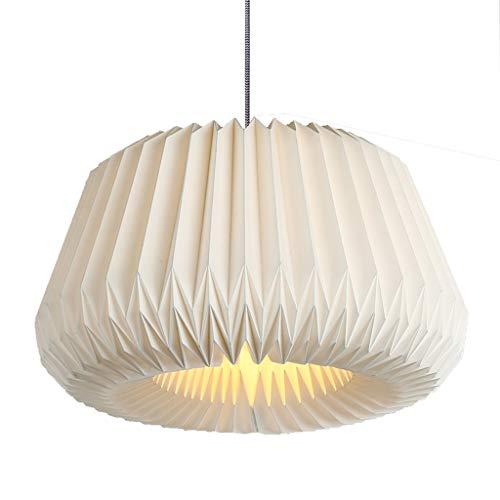 Nordic Kreative Design Persönlichkeit Wohnzimmer Beleuchtung Warme Schlafzimmer Bar Handgefertigte Origami Lampenschirm Restaurant Kronleuchter (Größe : L)