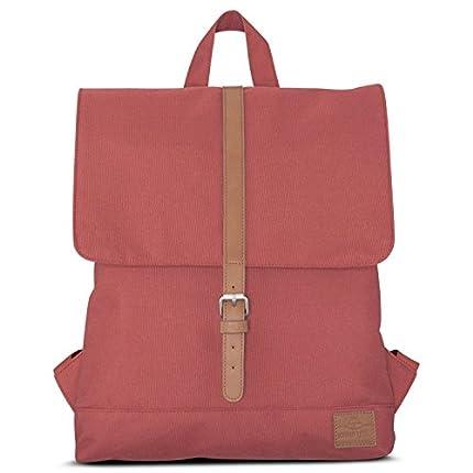 Johnny Urban Mochila Mujer Bolsos Mujer Rojo/Marrón Modelo MIA - Mochila Pequeña De 7 Litros - Impermeable Con Compartimento Para Portátil