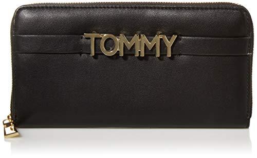 Tommy Hilfiger Helene Large Zip Wallet, BLACK
