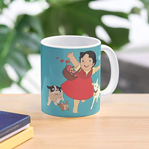 From Heidi The Girl Alps Mug Best 11 Ounce Ceramic Coffee Mug Gift