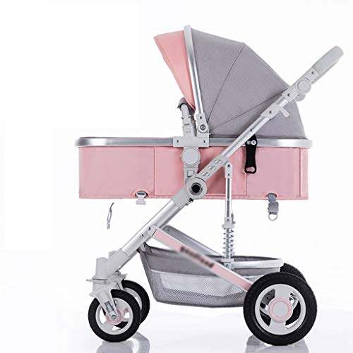 For Sale! Jogging Stroller Can Sit Reclining Lightweight Folding Shock Absorber High Landscape Exten...