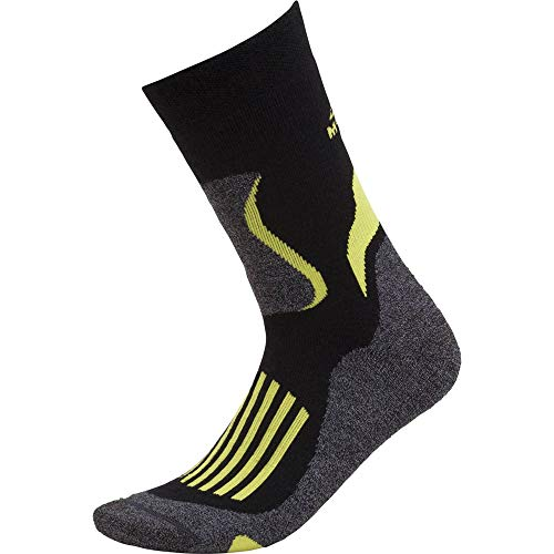 McKINLEY Chaussettes Tilicho Expedition Homme, Black/Lime, FR : S (Taille Fabricant : 45-47)