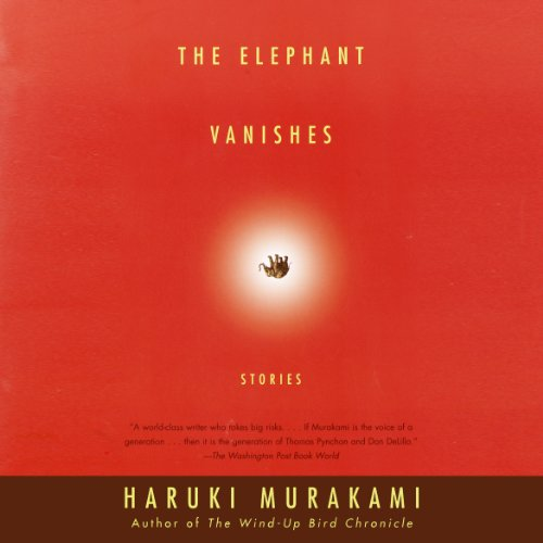The Elephant Vanishes audiobook cover art
