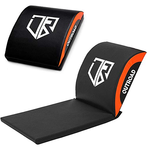 Outroad Ab Mat and Exercise Mat with Tailbone Protecting Pad - Sit Up Pad - Abdominal & Core Trainer Mat for Full Range of Motion Ab Workouts
