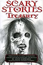 Scary Stories Treasury: Three Books to Chill Your Bones [Paperback compilation]