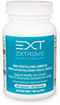 EXT Hair Revitalizing Complex Daily Hair Growth Gluten Free Supplement Vitamin with Biotin (60 Capsules) by HAIRCLUB