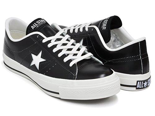 [コンバース] ONE STAR J [ワンスター メイド イン ジャパン 日本製] BLACK/WHITE 32346511 24.5(6) US