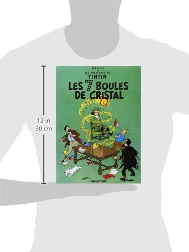Les Aventures de Tintin -Les Sept Boules de Cristal - Tome 13 (French Edition)