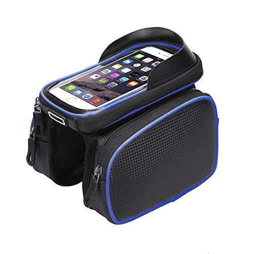 Fietstas Voorste Trolley Tas, Mountainbike Zadeltas Mobiele Telefoon Tas, Riding Bag Accessoires Touch Screen Waterdichte Draagbare Rijden