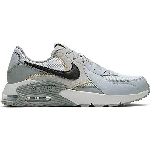 Nike Air MAX EXCEE, Zapatillas para Correr para Hombre, Pure Platinum Black Particle Grey, 44.5 EU