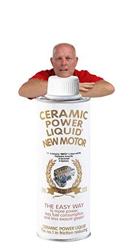 CERAMIC POWER LIQUID TRATTAMENTO MOTORE ATTIVO PER 100.000 KM Ceramic power liquid Traitement Moteur actif pour 100 000 km New Motor 275 ml pour moteurs jusqu'à 2000 cc. actif pour 50 000 km