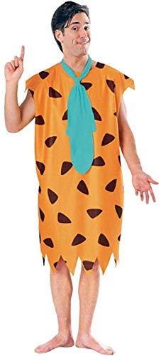 Fred Flintstone's Fancy Dress Men's Cartoon Costume New