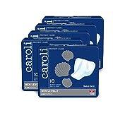 Caroli Protect + Care Men Level 2, Hygiene-Einlagen für Männer, sicher und diskret, geruchsneutralisierend, Vorteilspack (5 x 10 Stück) für mittlere Blasenschwäche