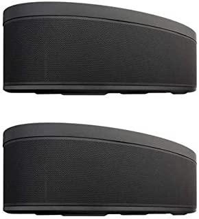 Yamaha 2 Pack MusicCast 50 WX-051 70W Wireless Speaker, Alexa Voice Control, Black, Single