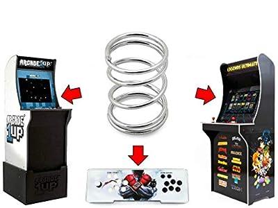 Alvatron Joystick 6lb Tension Spring for Arcade1up, AtGames Legends Ultimate Arcade, Pandora's Box, Frogger Pacman Galaga Rampage NBA JAM TMNT Mortal Kombat 2 Final Fight Marvel Capcom Street Fighter