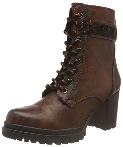 Tom Tailor Womens 9091804 Ankle Boot Classic Boot, Cognac, 7.5 UK