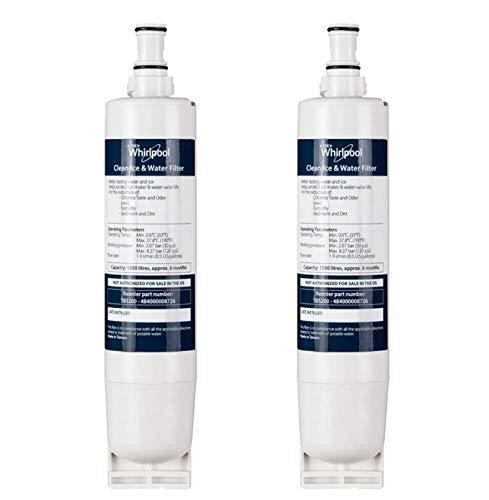 Filtro Whirlpool doppio frigo/congelatore Acqua cartuccia (Confezione da 2)