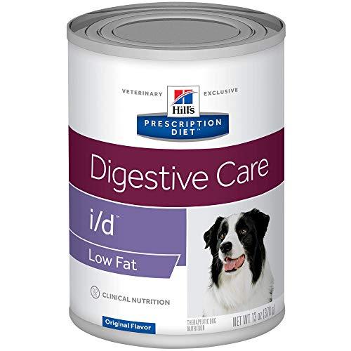 Hill's Prescription Diet i/d Low Fat Digestive Care Chicken Flavor Canned Dog Food, 13 Oz, 12-Pack Wet Food