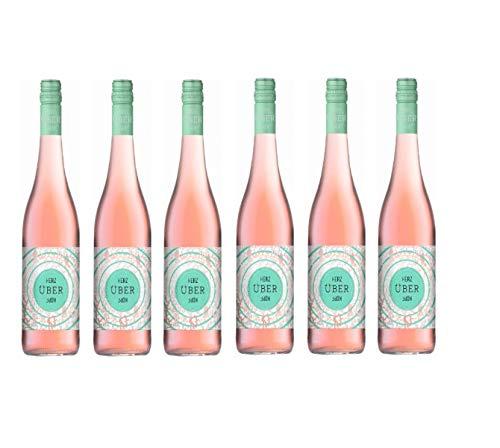 """2019er Josef Ambs """"Herz über Kopf"""" Rosé, QbA, trocken Rosewein aus Deutschland, Kaiserstuhl … (6 Flaschen)"""