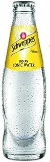 12 Flaschen Orginal Schweppes Indian Tonic Water a 0,2L in der Glas Flasche inc. 1.80€ MEHRWEG Pfand