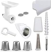 KitchenAid DRTVICE5 (FGA+RVSA+FVSP) Stand Mixer Attachment Pack Food Grinder/Fruit Vegetable Strainer/Rotor Slicer Shredder