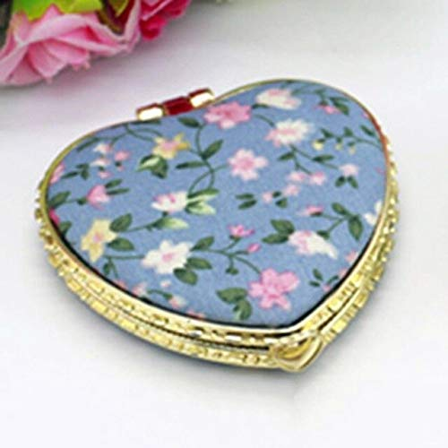 1 Piece Mini Makeup Compact Pocket Mirror BL2