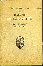 LA PRINCESSE DE CLEVES. - DE LA FAYETTE MADAME