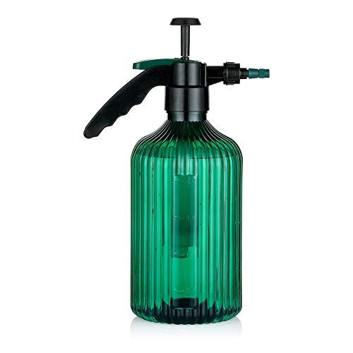 Regadera 2L Botellas De Spray De Plástico Verde Planta De Mano Grande Mister para Bonsai Planta De Interior Flor De Aguacate Suculenta para Jardín Interior Al Aire Libre
