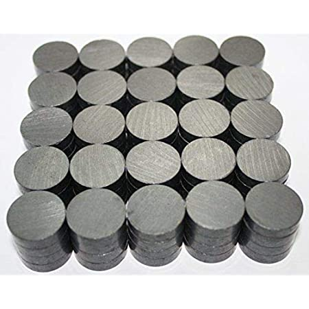 Pullox Ferrite Magnets Strong 18 Mm X 4 Mm - 25Pcs